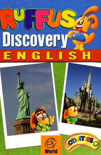 CURSO DE INGLES RUFFUS DISCOVERY ENGLISH INCLUYE SET DE 3 SELLOS